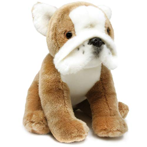 VIAHART Beatrix The English Bulldog | 9 Inch Stuffed Animal Plush Dog | by Tiger Tale Toys