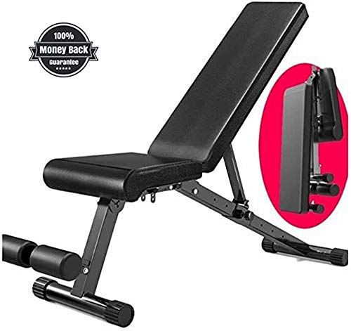 Weight Bench Adjustable Heavy Duty - Utility Weight Benches for Full Body Workout, Incline/Decline Bench Press for Home Gym