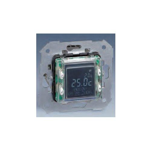 Simon 75817-39 - Cronotermostato Digital Con Display