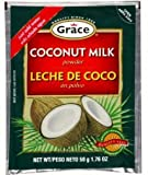 Grace Cocconut Milk Powder Envelope, 1.76-Ounce (50g)  (Pack of 12)
