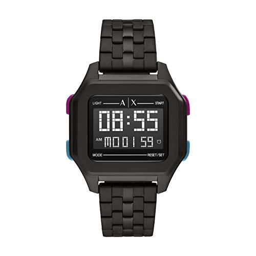 Armani Exchange Reloj Hombre de Digital con Correa en Acero Inoxidable AX2952