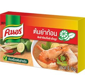 Knorr, Tom Yum Bouillon Cubes, 72 g (Pack of 3 units) // Beststo