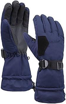 Andorra Mens Touchscreen Waterproof Snowboard Winter Ski Gloves
