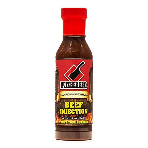 Butcher BBQ Liquid Brisket Injection | Texas Brisket | Barbecue Seasoning | Smoking Brisket | MSG and Gluten Free