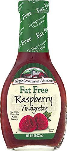Maple Grove Farms Fat Free Salad Dressing, Raspberry Vinaigrette, 8 Ounce