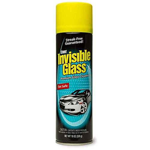 Invisible Glass 91164 - Cleaner for Auto and Home for a Streak-Free Shine, Deep-Cleaning Foaming Action, Safe for Tinted and Non-Tinted Windows, Ammonia Free Foam Glass Cleaner, 19 oz.