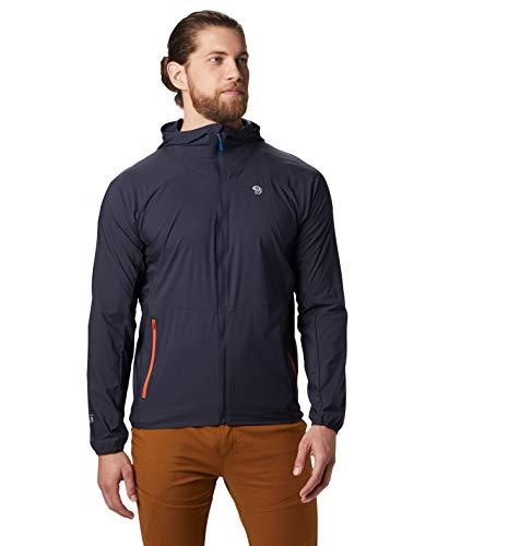 Mountain Hardwear Men's Standard KOR Preshell Hoody, Dark Zinc, Large