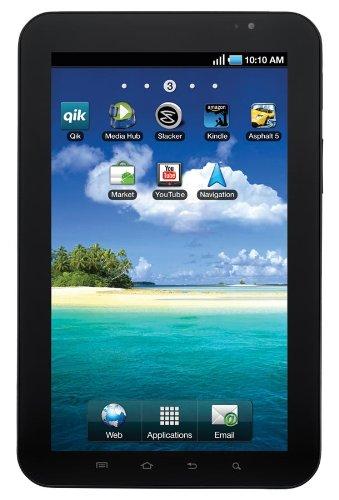 Samsung Galaxy Tab P1010 16GB Negro, Color Blanco - Tablet (IEEE 802.11n, Android, Pizarra, Android, Negro, Color Blanco, Polímero de Litio)
