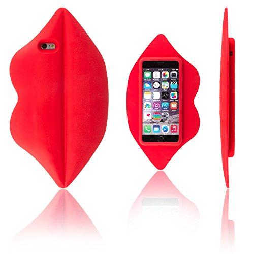 Perfectamente encaja y protege Apple iPhone 6 Plus y 6S Plus. ElGran labios otorga estilo y protección. Salpicaduras y al polvo resistente. Alta calidad y durabilidad. La gran apertura que posee para la lente de la cámara funciona para que puedas to...