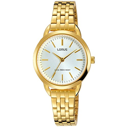 Lorus Womens Analogue Classic Quartz Watch with Stainless Steel Strap RG230NX9