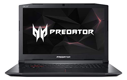 Acer Predator Helios 300 (Mat) Full HD IPS Gaming Ordinateur Portable (Intel Core, GeForce GTX 1050ti, Win 10) Noir Windows 10 noir