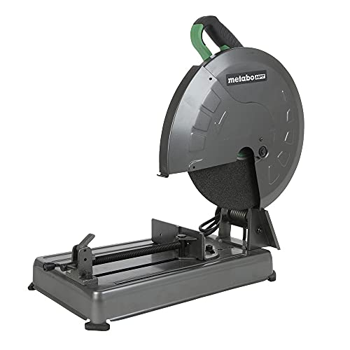 Metabo HPT Metal Chop Saw, 14-Inch Cut-off Wheel, Portable and Lightweight, Powerful 15-Amp Motor (CC14SFS)