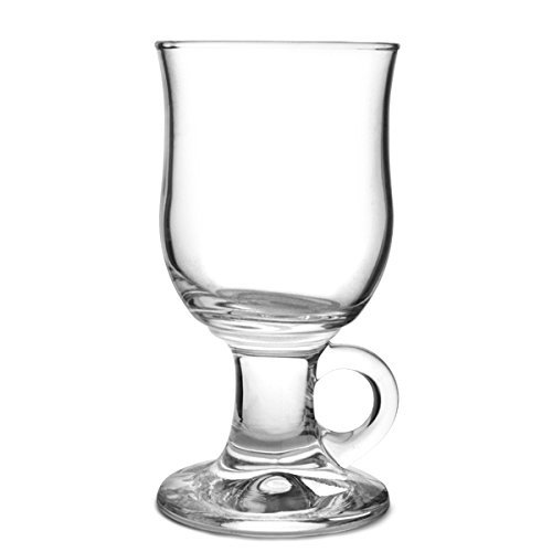 Durobor 1907/24 Mazagran Irish Coffee Vetro  240ml, 6 bicchieri, senza contrassegno di riempimento