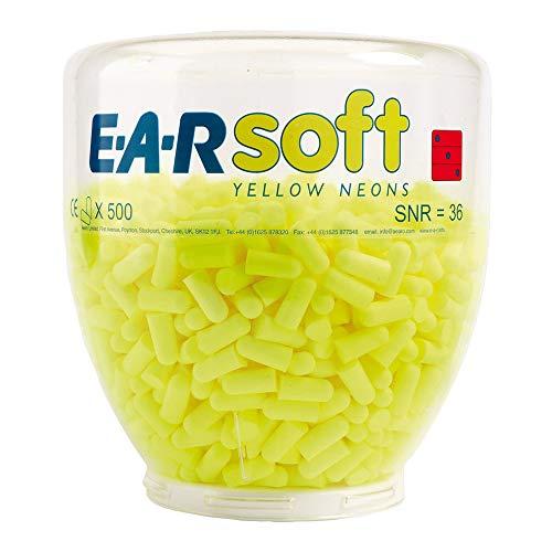 3M PD01002 E-A-RSoft Gehörschutzstöpsel (500-er pack)