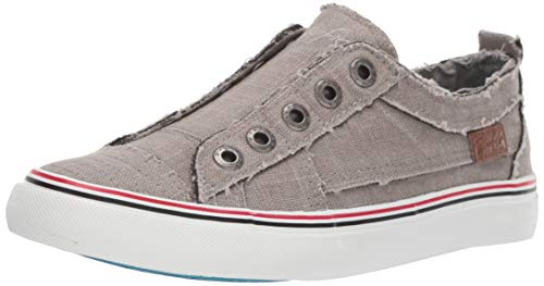 Blowfish Malibu womens Play Fashion Sneaker, Grey, 7.5 US