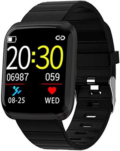 hwbq Monitor de actividad de salud, rastreador de actividad física, IP68, impermeable, monitor de frecuencia cardíaca, podómetro