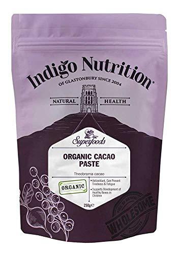 Indigo Herbs BIO Kakaopaste (250g)