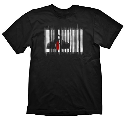 Hitman T-Shirt - Barcode Grunge, M [import allemand]