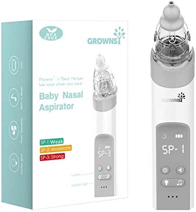 Baby Nasal Aspirator Baby Nose Sucker Snot Sucker for Baby Baby Nose Cleaner Automatic Booger product image