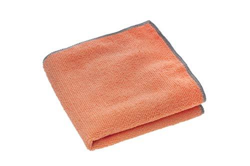 zilotex G00072 Das Schuhputztuch, 30 x 30 cm, orange, Poliertuch aus Mikrofaser für beste Ergebnisse bei der Schuhpflege