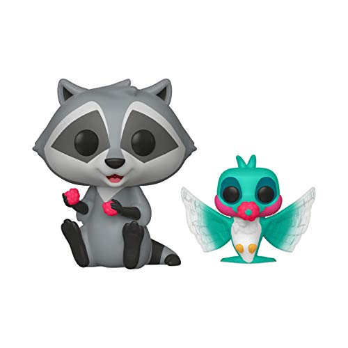 Funko POP! Disney: Pocahontas #233 - Meeko with Flit Earth Day Exclusive