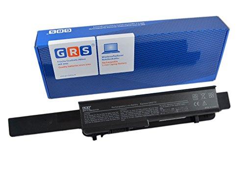 GRS Batería para DELL Studio 1745, 1747, 1749 con 6600mAh, sustituye a: U164P, N856P, 312-0196, M905P, 312-0186, Laptop Batterie 6600mAh, 11.1V