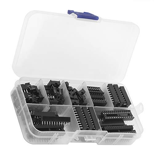 Adaptador de enchufes IC, enchufes IC resistentes exquisitos y duraderos para técnicos para fábricas para estudiantes universitarios para aficionados a la electrónica de bricolaje para