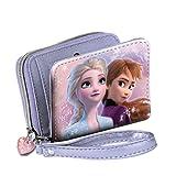 KARACTERMANIA Frozen II, Accessori da Viaggio-Portafogli Bambina, Multicolore, One Size