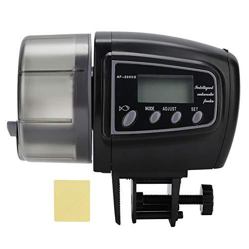 Jiawu Alimentador de Peces de sincronización, alimentador de Peces dispensador automático de Peces para acuarios