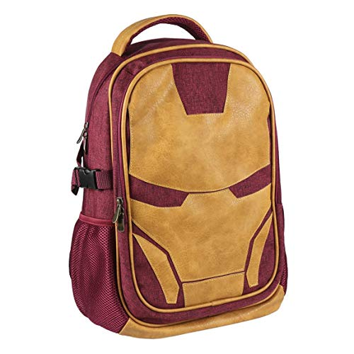 ARTESANIA CERDA Mochila Casual Viaje Avengers Iron Man, Rojo, 47