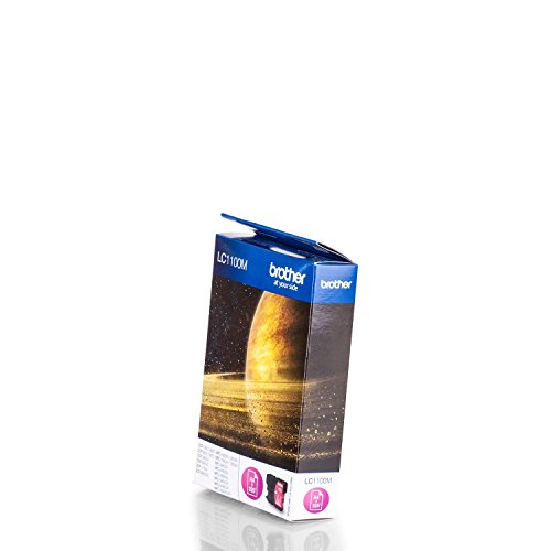 Brother Original LC1100M /, für MFC-5490 CN Premium Drucker-Patrone, Magenta, 325 Seiten, 7,5 ml