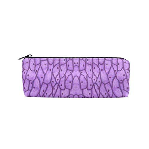 Mikroskopische Zwiebelzellen Zylinder Kosmetiktasche Small Travel Organizer Pencil Case