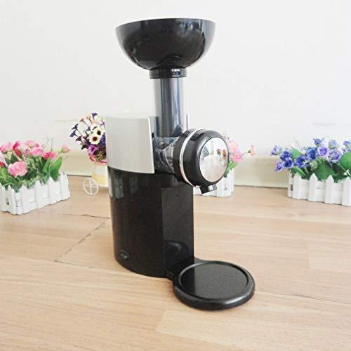 220V praktisch ontwerp DIY Ice Cream Maker Machine draagbaar formaat huishoudelijk gebruik Automatische Frozen Fruit Dessert Machine voor het maken van ijs eten,Black