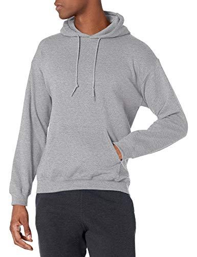 Gildan Men's Fleece Hooded Sweatshirt, Style G18500, Sport Grey, 2X-Large