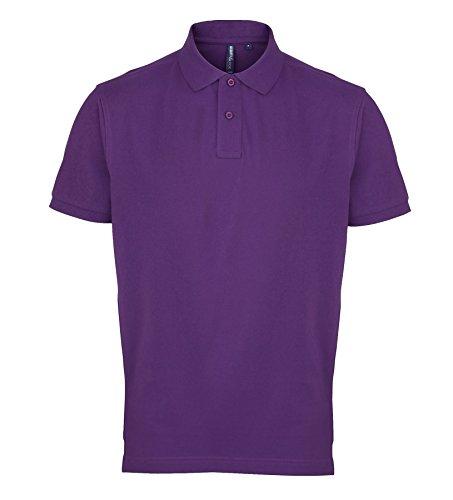AQ010 Asquith & Fox Men's Polo Purple XL