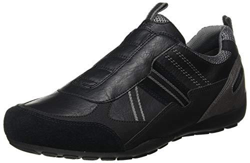 Geox Mens U RAVEX B Sneaker, Black,46 EU