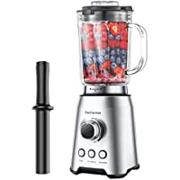 Elechomes 1000W High-Speed Professional Blender for Shakes and Smoothies