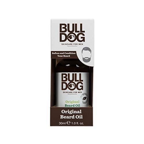 BullDog Original - Aceite para barba para hombres, 30 ml, 1 unidad