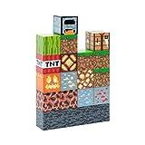 Paladone Minecraft Block Building Light - 16 Rearrangeable Light Blocks and Bedrock Base, Build Your Own Level
