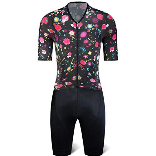 Maillot de Ciclismo Mamelucos De Ciclismo para Hombre, Camisetas De Ciclismo para...