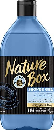 Nature Box Douchegel Kokos, 385 Ml