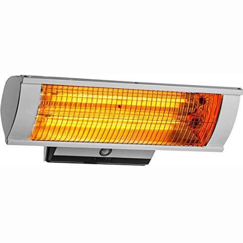 NZBⓇ Patio HEATERS - Terrassenheizer,Heat Carbon Wärmestrahler für Innen und Aussen Ge,Infrarotstrahler Heizstrahler (Silber)