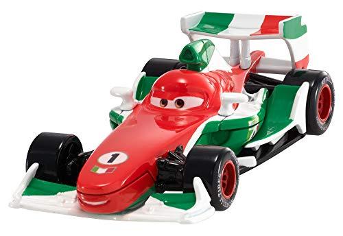 Disney Cars, Vehículo diecast Grand Prix Mundial Francesco Bernoulli, coche de juguete (Mattel FLM10)