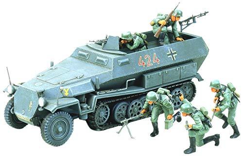 Tamiya 300035020 - Carro Armato della II Guerra Mondiale Sdkfz.251/1 Hanomag (5), Scala: 1:35