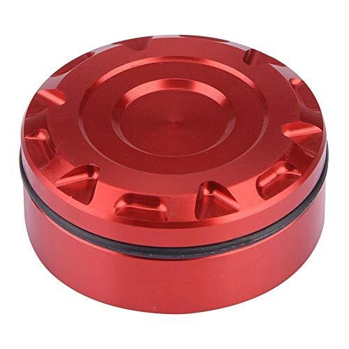 KSTE Freno de la Motocicleta Posterior tapón del depósito de líquido Rojo Cubierta for Kawasaki Z1000SX Yamaha MT-07 MT-09
