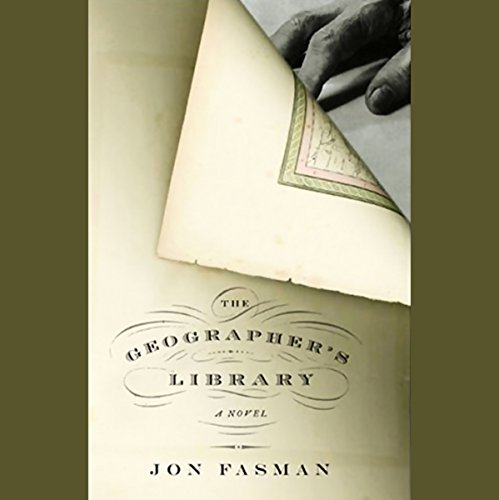 The Geographer's Library audiobook cover art