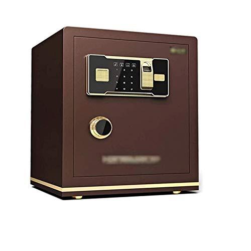GYDSSH Caja de Almacenamiento montado en la Pared de Huellas Dactilares de Seguridad del Ministerio del Interior Password Safe Alarma antirrobo de Prueba de inundaciones Ocultos Mesita de Noche