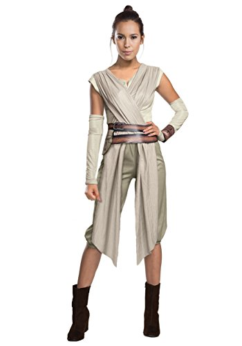 Rubie's 810668M Star Wars Force Awakens Deluxe Rey Costume, Women's, Mediu