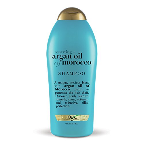 OGX Renewing + Argan Oil of Morocco Hydrating Hair Shampoo, Cold-Pressed Argan Oil to Help Moisturize, Soften & Strengthen Hair, Paraben-Free with Sulfate-Free Surfactants, 254 fl oz