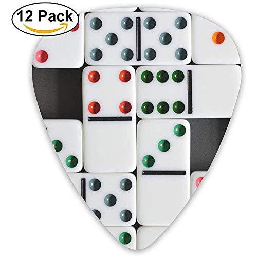 Domino Würfel Brettspiele Guitar Pick 12er Pack